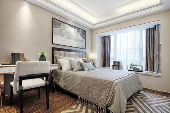 80平米三室两厅现代简约风格卧室图