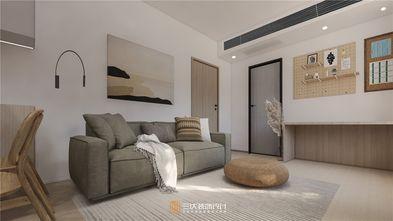 60平米一室两厅日式风格客厅装修效果图