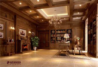 140平米别墅法式风格书房效果图