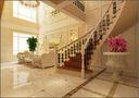 3-5万140平米别墅田园风格楼梯图片