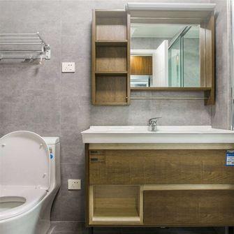 90平米三室一厅田园风格卫生间设计图