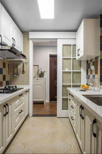 100平米三室一厅美式风格厨房欣赏图