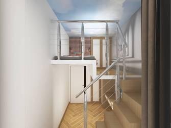70平米现代简约风格阁楼效果图