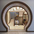 140平米别墅中式风格走廊装修图片大全