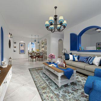 130平米一室两厅地中海风格客厅效果图