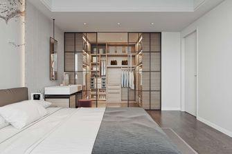 50平米三室两厅中式风格卧室装修图片大全
