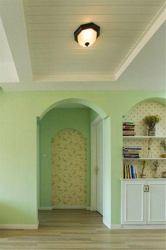 90平米三室两厅田园风格走廊图片大全