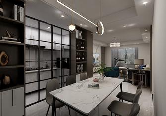 100平米三室一厅现代简约风格餐厅装修案例