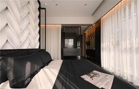 140平米四室一廳混搭風格臥室裝修圖片大全