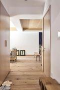 130平米三室一厅日式风格走廊装修图片大全