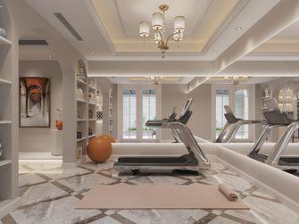 140平米复式欧式风格健身室效果图