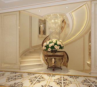 豪华型140平米别墅欧式风格楼梯装修图片大全