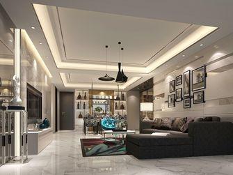 100平米三现代简约风格客厅设计图