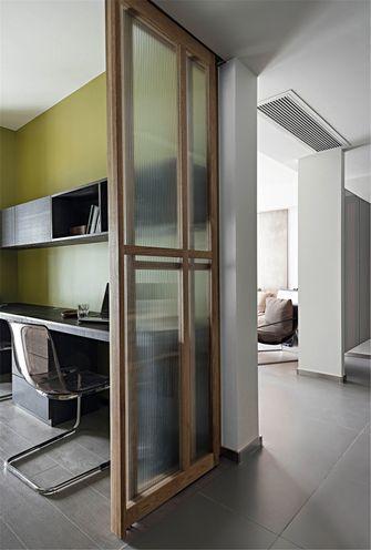 90平米英伦风格厨房设计图
