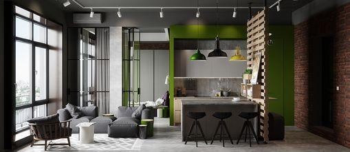 110平米三北欧风格餐厅设计图