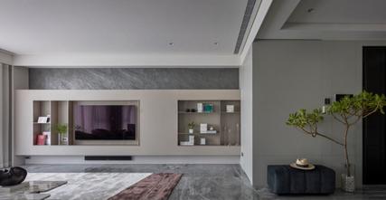 140平米三室三厅东南亚风格客厅图