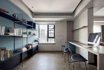 120平米四室一厅现代简约风格书房图片