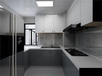 70平米三室两厅现代简约风格厨房装修效果图