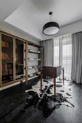 140平米三室两厅混搭风格书房装修图片大全