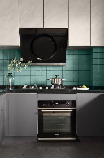 110平米三室两厅英伦风格厨房图
