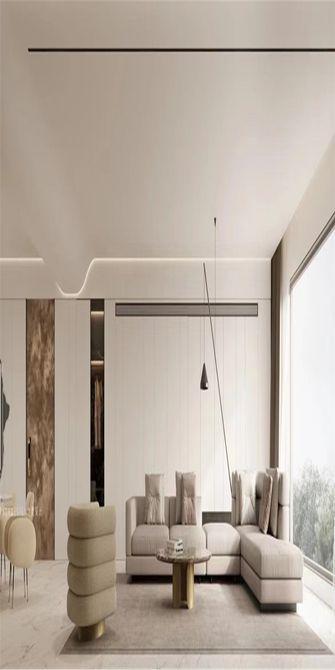 110平米三室三厅北欧风格卧室图片