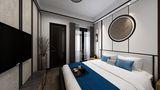 140平米复式中式风格卧室图片