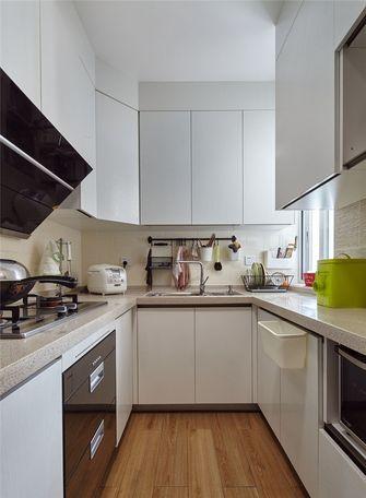 90平米三室两厅田园风格厨房欣赏图