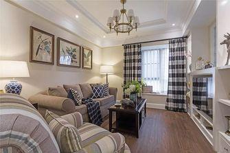 90平米三室一厅美式风格客厅装修案例