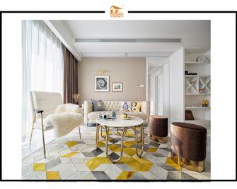 富裕型90平米一室一厅北欧风格阳光房设计图