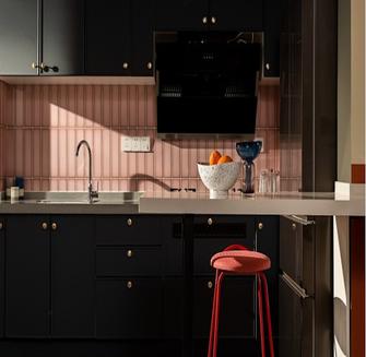 80平米混搭风格厨房欣赏图