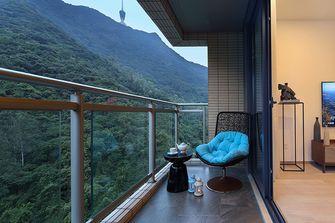 130平米三中式风格阳台欣赏图