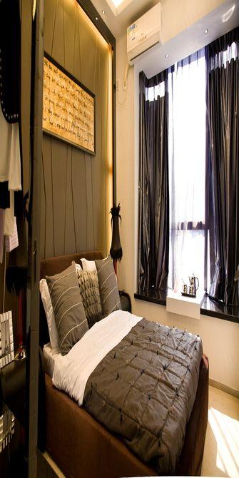 80平米混搭风格卧室装修图片大全