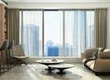 120平米一居室现代简约风格客厅图片