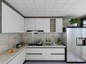 130平米四室两厅现代简约风格厨房设计图
