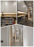 80平米三室两厅中式风格走廊装修效果图
