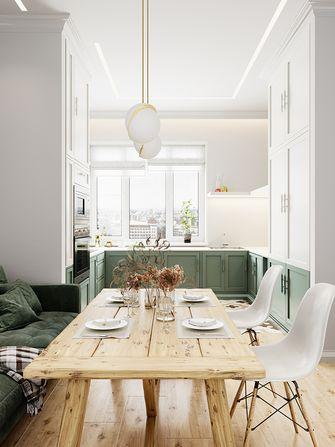 110平米三室一厅法式风格餐厅装修效果图