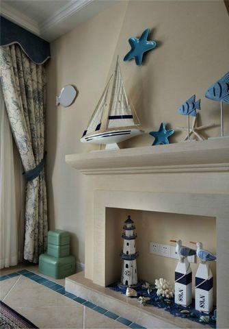 120平米三室两厅地中海风格衣帽间装修效果图