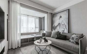 5-10万120平米三室两厅现代简约风格客厅图片