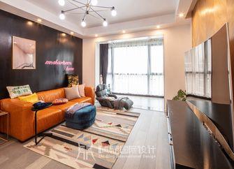 富裕型90平米三室两厅北欧风格客厅效果图
