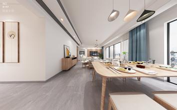 130平米三室两厅日式风格走廊设计图