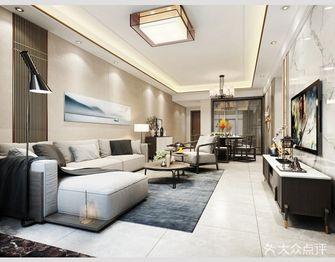 120平米三室一厅中式风格客厅装修图片大全