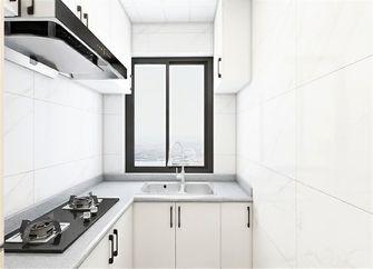 60平米一居室北欧风格厨房图片