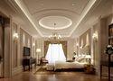 140平米别墅英伦风格卧室装修效果图