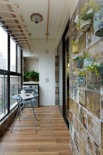 110平米三室两厅欧式风格阳台设计图