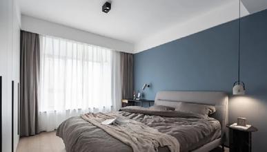 130平米现代简约风格卧室效果图