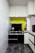 70平米一居室北欧风格厨房装修图片大全
