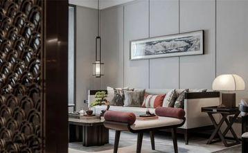 110平米四室一厅中式风格客厅装修效果图