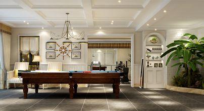 140平米别墅美式风格健身室橱柜图