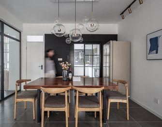 60平米一居室混搭风格餐厅装修图片大全