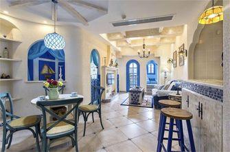 80平米地中海风格餐厅设计图